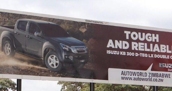 autoworld billboard